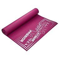 Lifefit slimfit gymnastická, 173x61x0,4cm, bordó - Podložka