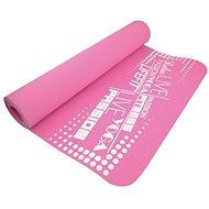 Lifefit Yoga Mat TPE růžová - Podložka
