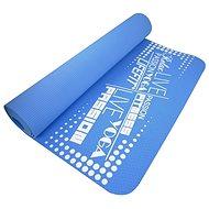 Lifefit Yoga Mat TPE modrá - Podložka