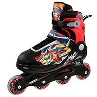 Roces Compy 5.0 Boy, Black-Red, size 38-41 EU/245-260mm - Roller Skates