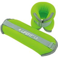 LIFEFIT Ankle/Wrist Weights, Neoprene S2, 2x1.5kg
