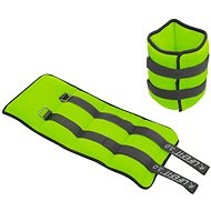 LIFEFIT Ankle/Wrist Weights, Neoprene S2, 2x3,0kg, Light Green