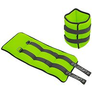 LIFEFIT Ankle/Wrist Weights, Neoprene S2, 2x4,0kg, Light Green
