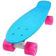 Sulov Neon Speedway sv.modrý-růžový - Skateboard