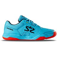 Salming Hawk Court Shoe JR Blue/Red vel. 37 EU / 240 mm - Sálovky
