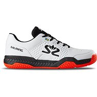 Salming Hawk Court Shoe Men White/Black vel. 47,33 EU / 305 mm - Sálovky