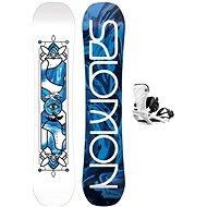 Salomon GYPSY GROM+RHYTHM  - Snowboard komplet