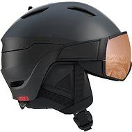 Salomon Driver S Bk/Red/Uni. T.Orange - Lyžařská helma