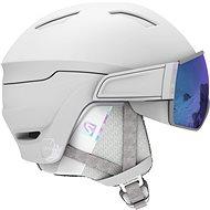 Salomon Mirage S White/Univ Mid Blue vel. S (53-56 cm) - Lyžařská helma