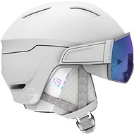 Salomon Mirage S, White/Univ Mid Blue - Ski Helmet