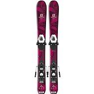 Salomon Qst Lux Jr M + C5 J75 Re vel. 130 cm - Sjezdové lyže
