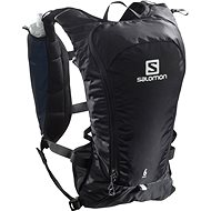 Salomon AGILE 6 SET Black - Sports Backpack