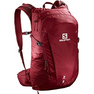 Salomon Trailblazer 30 Biking, Red/Ebony - Sports Backpack