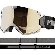 Salomon Cosmic Access Grey/Univ. Gold - Lyžařské brýle