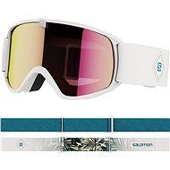 Salomon Trigger WhiteFlowers/Univ Ruby - Lyžařské brýle
