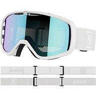Salomon Aksium WhiteGrey/Uni Mid Blue - Lyžařské brýle