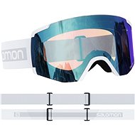 Salomon S/View Photo White/AW Blue - Lyžařské brýle