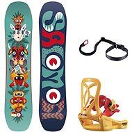 Salomon Team Package vel. 90 cm - Snowboard komplet