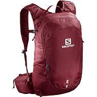 Salomon TRAILBLAZER 20 BIKING RED/Ebony - Turistický batoh