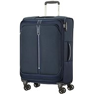 Samsonite Popsoda SPINNER 66 EXP Dark Blue - Cestovní kufr s TSA zámkem