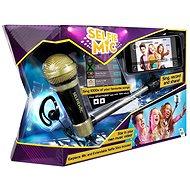 Selfie mikrofon černý - Herní set