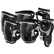 Stiga Comfort JR, black L - Protective Cycling Pads