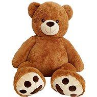 Medvěd 135 cm čokoládový - Plyšák