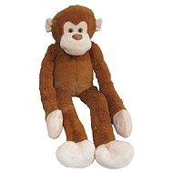 Plyšová opice dlouhá ruka 100 cm, světle hnědá - Plyšová hračka