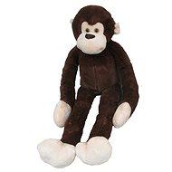 Plyšová opice dlouhá ruka 100 cm, tmavě hnědá - Plyšák