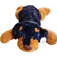 Plyšový pejsek tmavý 90 cm - Plyšová hračka