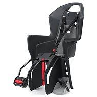 Polisport Koolah černo-šedá - Dětská sedačka na kolo