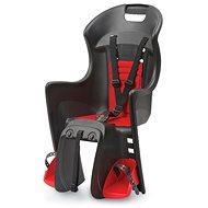 Polisport Boodie černo-červená - Dětská sedačka na kolo