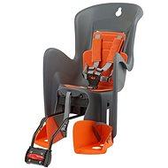 Polisport Bilby RS šedo-oranžová - Dětská sedačka na kolo