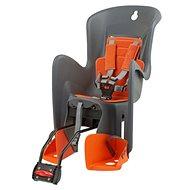 Polisport Bilby šedo-oranžová - Dětská sedačka na kolo