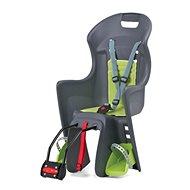Polisport Boodie šedo-zelená - Dětská sedačka na kolo