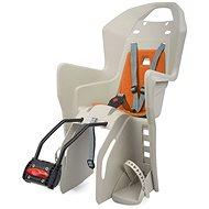 Polisport Koolah krémovo-oranžová - Dětská sedačka na kolo