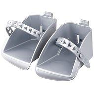 Náhradní stupačky sedačky Polisport Koolah a Boodie, stříbrná - Příslušenství