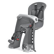 POLISPORT Bilby Junior šedo-stříbrná - Dětská sedačka na kolo