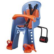 POLISPORT Bilby Junior modro-oranžová - Dětská sedačka na kolo