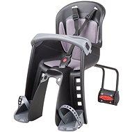 POLISPORT Bilby Junior černo-tmavě šedá - Dětská sedačka na kolo