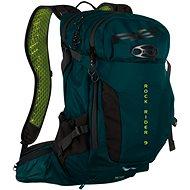 Cyklistický batoh TRAIL STAR zelená/černá 12l