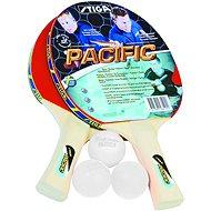 Stiga Pacific - 2 paddles and 3 balls - Table tennis set