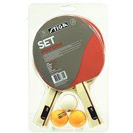 Stiga Perform Set - 2 pálky a 3 míčky - Set na stolní tenis