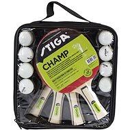 Stiga Set Champ 4-play - 4 pálky a 8 míčků - Set na stolní tenis