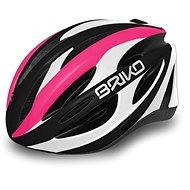 Briko Shire pink-white-black M - Helma na kolo