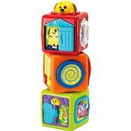 Buddy toys Tři Kostky zvířátka - Hračka pro nejmenší