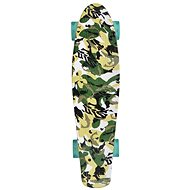 Schildkröt Retro Skateboard Free Spirit Camouflage - Skateboard