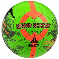 Select Street Soccer green orange vel. 4,5 - Fotbalový míč