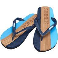 Sinner Capitola, Light Blue/Light Brown, size 44 EU/293mm - Flip-flops