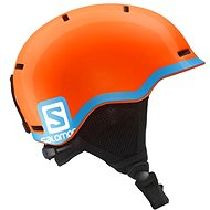 Salomon Grom Fluo Orange/Blue - Lyžařská helma